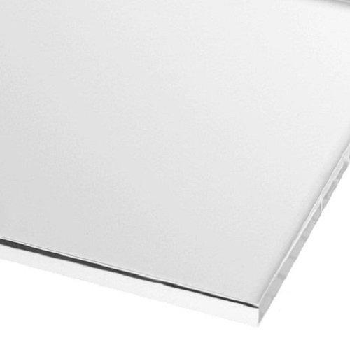 600mm x 600mm 2mm Perspex White Gloss Acrylic Plastic Sheet