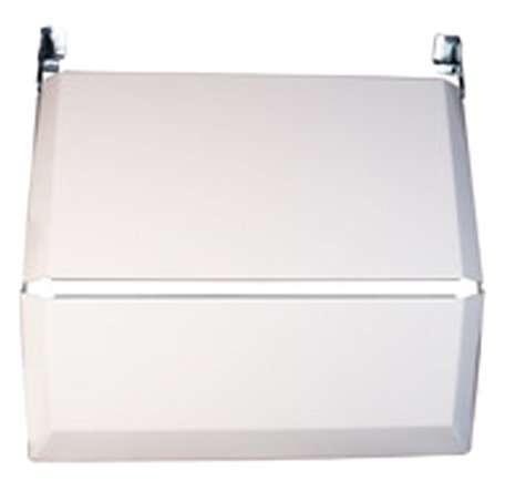 Suburban 2815A Slide-In White Bi-Fold Cooktop Cover