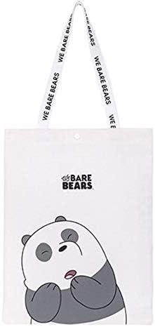 Book bag Bears Childrens Stripey Cotton Shopping bag Tote Bag