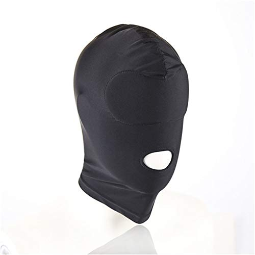 Stretchy Breathable Mask Hood face covery Toys Human Games Open Mouth Eye Head Cosplay Headgear ()