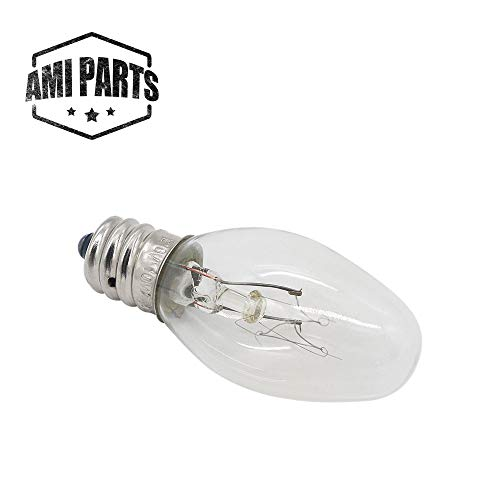 AMI PARTS 22002263 Dryer Drum Light 10w 120v Bulb Replacement Part Compatible with Whirlpool Kenmore Dryers(1pc)
