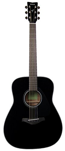 Yamaha FG800 Solid Top Dreadnought Acoustic Guitar - Black ()