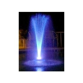 Ocean Mist Floating Water Fountain With Led Lights in Florida - 2