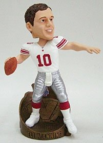 New York Giants Eli Manning Super Bowl 42 MVP Bobble Head