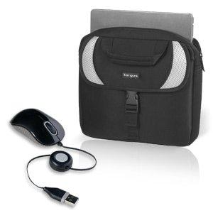 Targus Sport Neoprene Netbook Case & Travel Mouse Bundle New (Case Netbook Sport)