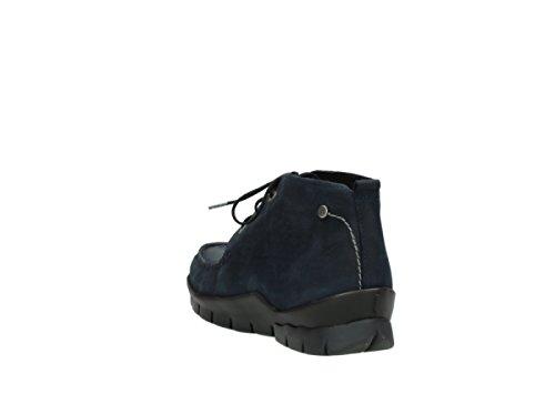 Comfort Nubuck Wolky Cw Pizzo 11802 Stivali Nebbiosa Blu Oliato 66wrqU
