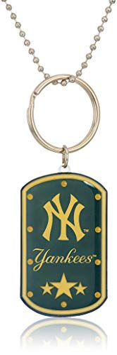 New York Yankees Led Dog Tag Keychain