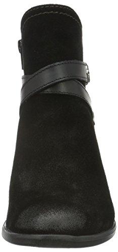 Tamaris 25010, Botines para Mujer Negro (BLACK 001)