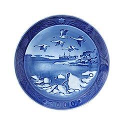 ROYAL COPENHAGEN 2006 Porcelin Christmas Plate - Kronborg Castle ()