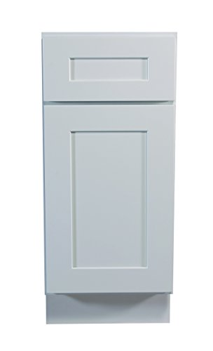 Design House 561316 Brookings 9-Inch Base Cabinet, White Shaker