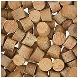 WIDGETCO 5/16'' Mahogany Wood Plugs, Face Grain