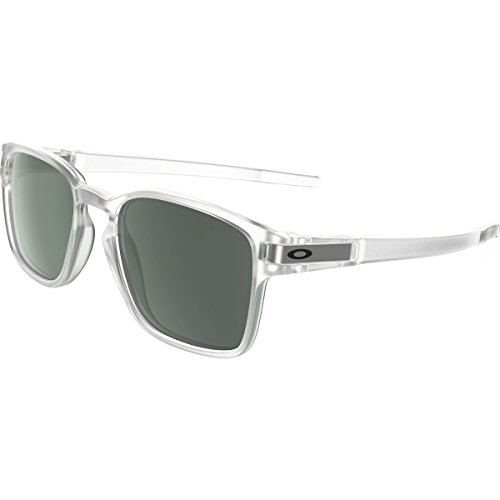 Oakley Men's Latch Squared Rectangular Sunglasses, Matte Clear, 52 - Oakly Frames