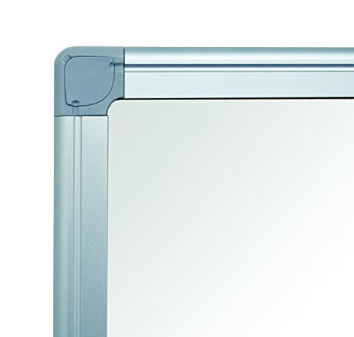 MasterVision Whiteboard Magnetic Porcelain Earth Dry Erase Board, 48'' x 72'' with Aluminum Frame by MasterVision (Image #1)
