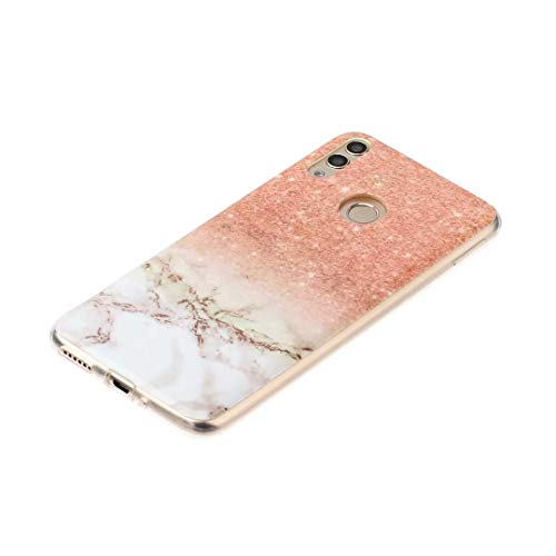 Luckyandery Huawei Honor 8C TPU Cover, Shockproof and Anti-Drop Protection Case for Huawei Honor 8C