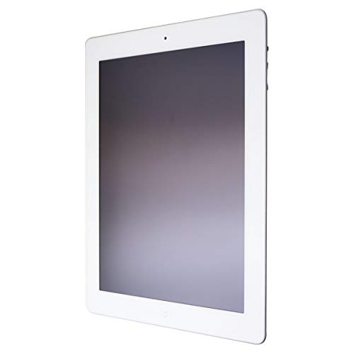Apple iPad with Retina Display MD513LL/A (16GB, Wi-Fi, White) 4th Generation (Renewed) (New Ipad 64gb Wifi Best Price)
