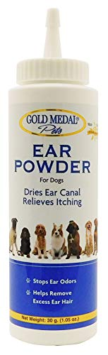 Gold Medal Groomers Ear Powder (30 Grams) (Best Ear Powder For Dogs)