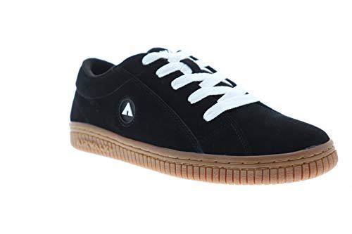 Airwalk Mens The One Gum Black Athletic Skate Shoes 10 (Skateboards Airwalk)