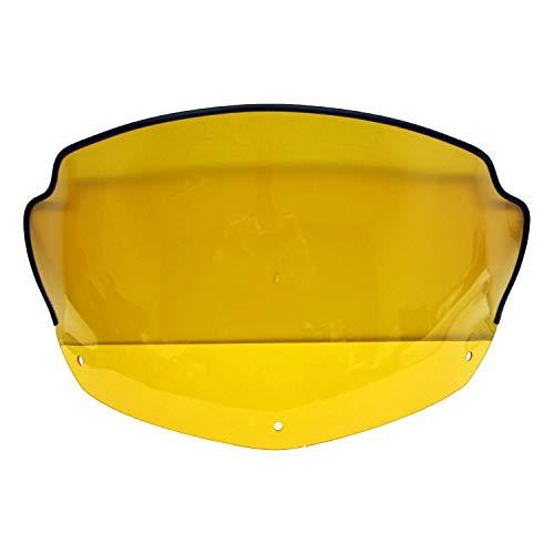 Ski-Doo New OEM Yellow Tint Stock Windshield 517303045 MX-Z Summit 550 600 800