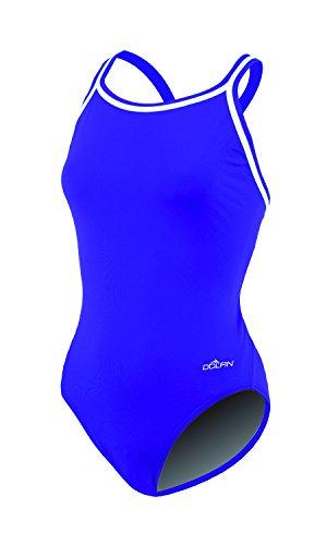 Dolfin Chloroban Team Solid Suit Womens - Purple 40
