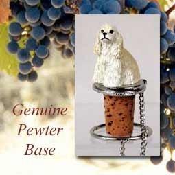 - Cocker Spaniel Buff Wine Bottle Stopper - DTB15C by Conversation Concepts