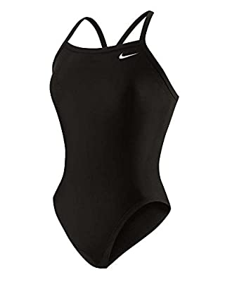 Nike Womens Nylon Core Solid Competitive Swim Suit Game Royal