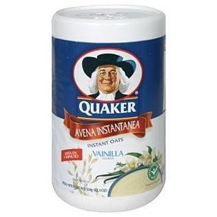 Vanilla Oatmeal (Quaker Avena Instant Oats (Vanilla) (11.6oz))