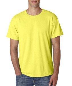 Jerzees mens 5.6 oz. 50/50 Heavyweight Blend T-Shirt(29m)-NEON PINK-XL (Youth Jerzees Heavyweight Blend)