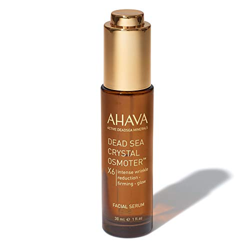 AHAVA Dead Sea Crystal Osmoter X6 Facial Serum, 1 Fl Oz