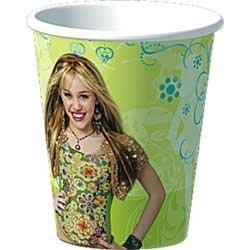 (Hannah Montana Paper Cups (8ct) by Party Express)