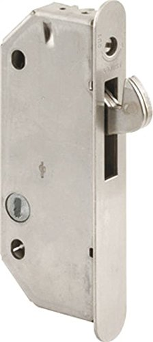 Prime-Line Products E 2171 Sliding Door Mortise Lock, Plated Steel