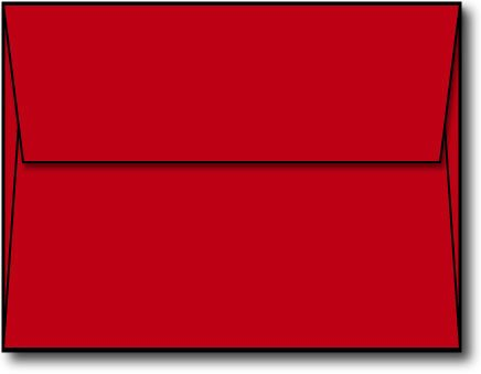 - Red A2 Envelopes, 5 3/4 x 4 3/8-100 Envelopes - Desktop Publishing SuppliesTM Brand Envelopes