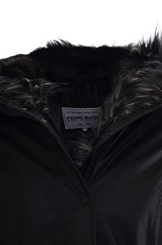 In Pelliccia Eskimo Donna Woolrich Penn sadie rich By Nero Parka cappuccio 7qwqAYp6