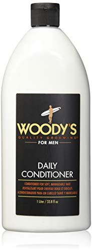Woody's Daily Conditioner for Men, 33.8 - Quality Woodys Grooming Daily Shampoo