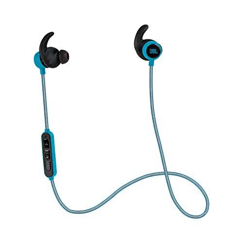 JBL JBLREFMINIBTTEL Reflect Mini Bluetooth in-Ear Sport Headphones, Teal (Renewed)
