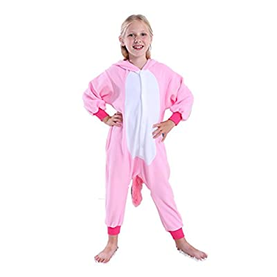 Unicorn Onesie Pajamas for Kids Animal Onesie Unicorn Costume Christmas Cosplay Dress for Girls: Clothing