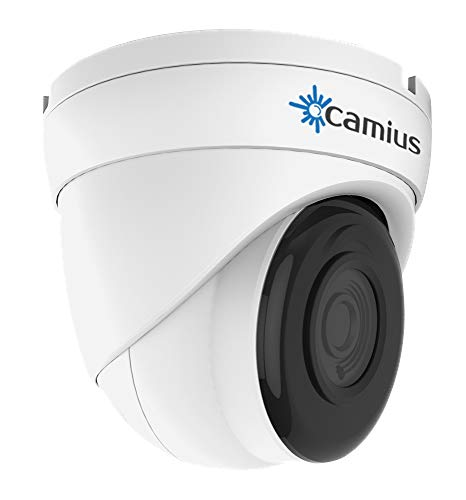 New Camius 5MP PoE IP CCTV Wired Video Surveillance Network Dome Security Camera with Audio,2.8mm lens,Night Vision,over 2K 2592×1944,PC Mac Browser Cameras app for home NVR recorder system IRIS528A