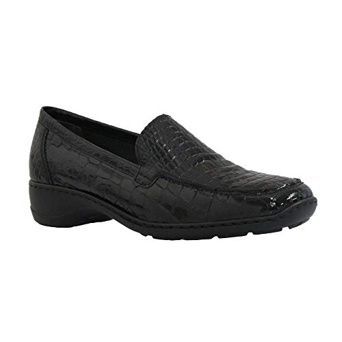 Black Womens Shoe 583A0 Croc Black Rieker dqtAwd