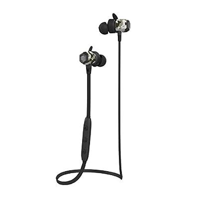 Bluetooth Earphones, J&L-102 Sports Wireless Headphones with Magnetic Function (IPX5 Sweatproof, Bluetooth V4.1, CVC 6.0, Built-in Mic)