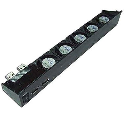 REFRIGERADOR USB DE PS3 80G/40G 5 VENTILADORES: Amazon.es: Electrónica