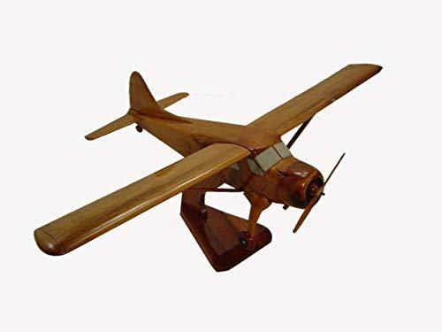 DHC2 Dehavilland Beaver Mahogany Wood Desktop Airplane Model (Ships within 48 hours) ()