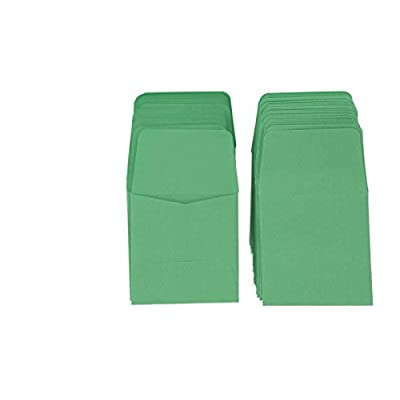 Archival Paper Coin Envelopes 2x2 Green by Guardhouse 100 Pack: Toys & Games