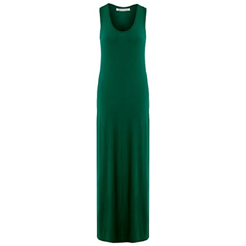 Sizes 26 Vert 8 Back Maxi Racer Jersey Bouteille Womens Summer Janisramone Vest Dress Ladies Muscle Long U1PnOq
