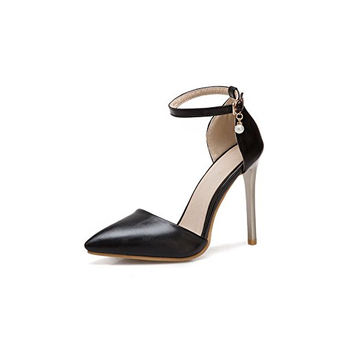 BalaMasa 36 BalaMasa Noir Femme Sandales 5 EU Sandales Noir Compensées UqwgA