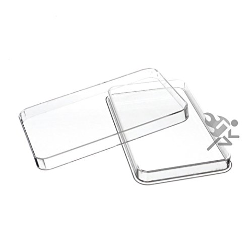 10oz Silver Bar Direct Fit Air-Tite Capsule Holder Qty: 5
