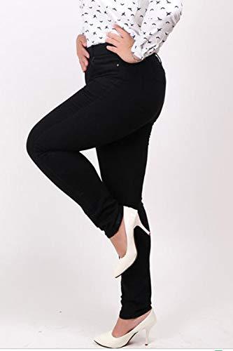 Pantaloni Dimensioni Normali Black E Skinny Donna Jeans Zinmuwa wI1xBqTUx