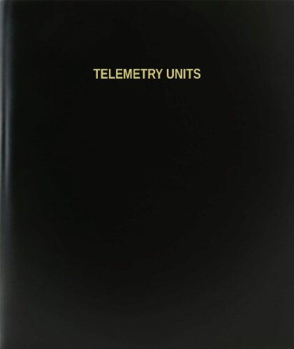 BookFactory® Telemetry Units Log Book / Journal / Logbook - 120 Page, 8.5