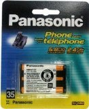 Original Panasonic Ni-MH Rechargeable Cordless Phone Battery (HHR-P107A/1B) (Not Generic), Office Central