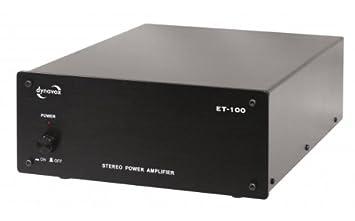 Dynavox ET-100 - Amplificador estéreo, color negro: Amazon.es: Electrónica