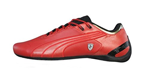 Puma Future Cat M2 SF Ferrari Mens Leather sneakers / Shoes - Red - SIZE US 6