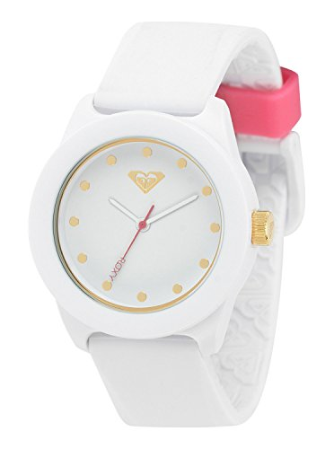 - Roxy Women's RX/1017WTWT THE KAI White Silicone Strap Watch